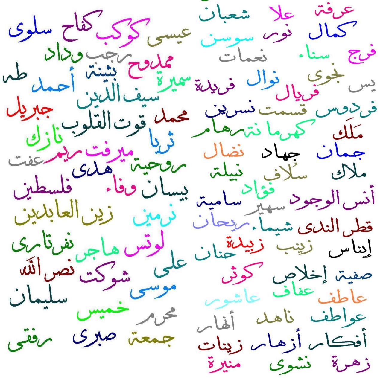 صورة اسماء اولاد حلوه , فى اسامى مش بتقدم ابدا