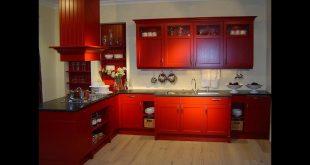 صورة الوان مطابخ خشب , احدث الوان في ديكورات المطبخ