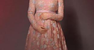 صورة فساتين للحوامل , الحامل وشياكتها في الفساتين