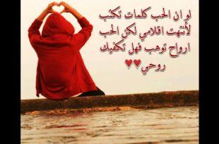 صورة اجمل العبارات في الحب , بحبك يا غالى و اهديك هذه الكلمات