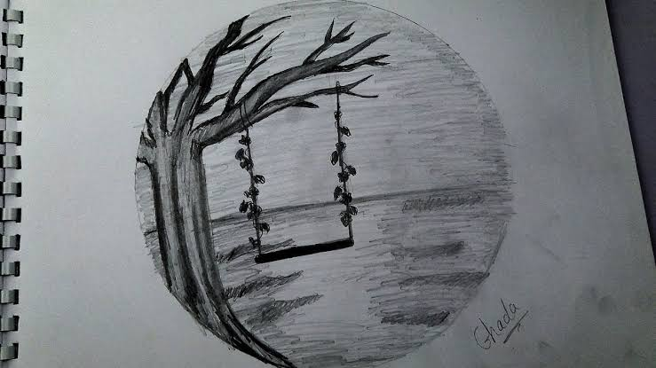 صورة رسومات بالرصاص , الى محبى الرسم اليكم هذه الصور الرقيقه 2406 4