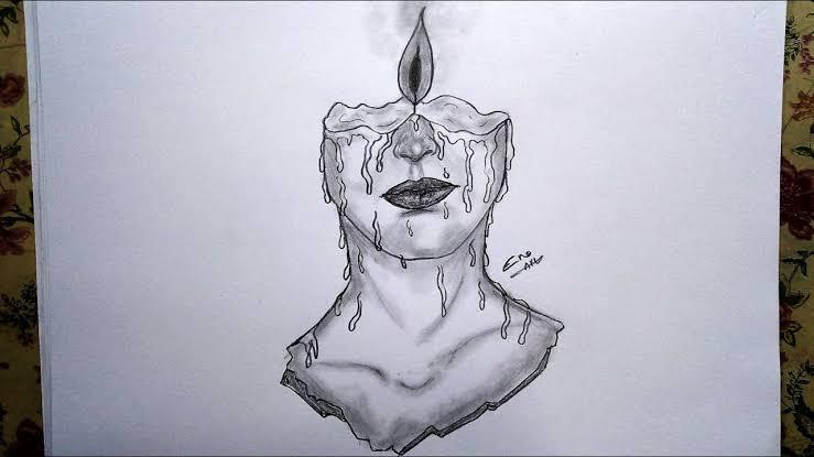 صورة رسومات بالرصاص , الى محبى الرسم اليكم هذه الصور الرقيقه 2406 9
