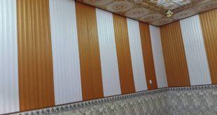 تغليف جدران , لون حائط مميز جدا فى الشكل و الرسومات