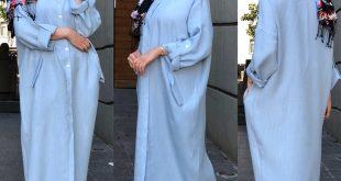 صورة اخر صيحات الموضة للمحجبات , موديلات تهوس تجعل مظهرك جذاب