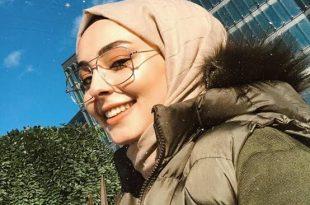 صورة محجبات كيوت , بنت بالحجاب عسل اوى