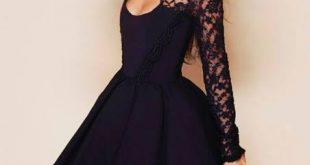 صورة فساتين قصيرة , اجمل اطلاله بهذه الفساتين الكشخه