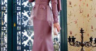 صورة فساتين سواريه للمحجبات , المحجبة الجميلة جذابة في سهراتها