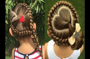 صورة بالصور تسريحات شعر للاطفال , محتارة كل يوم تعملي تسريحة لبنتك