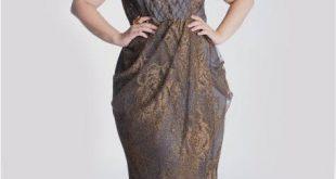 صورة فساتين سواريه للتخان , ما تزعليش هاتلبسي احلى فستان في السهرة