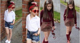 صورة ملابس بنات اطفال , يا روحي يا قلبي على الملابس الحلوة دي