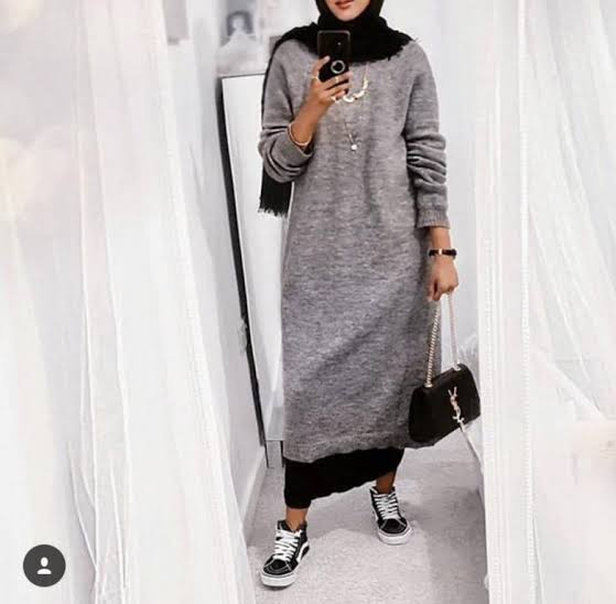 صورة ملابس محجبات 2019 , ازياء شيك ومحتشمة 4199 3