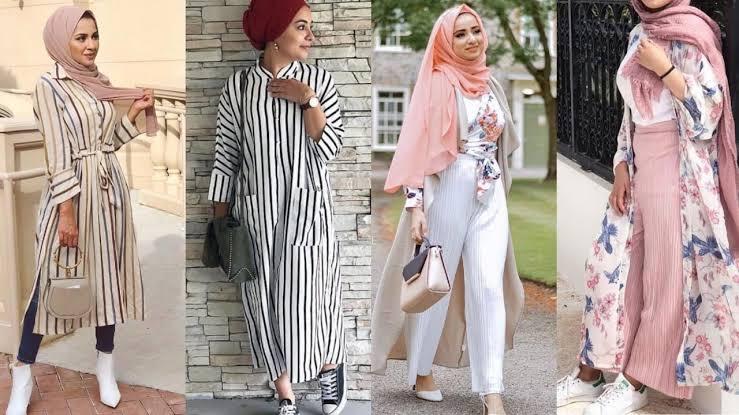 صورة ملابس محجبات 2019 , ازياء شيك ومحتشمة 4199 30