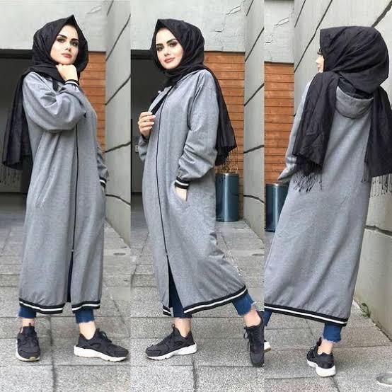صورة ملابس محجبات 2019 , ازياء شيك ومحتشمة 4199 33