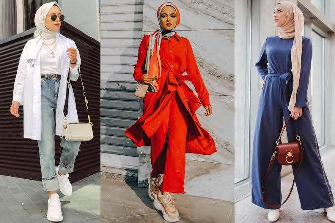 صورة ملابس محجبات 2019 , ازياء شيك ومحتشمة 4199 9