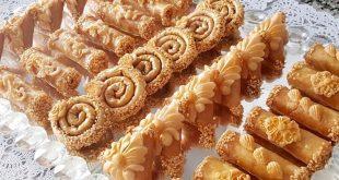 صورة حلويات مغربية , من اجمل واحلي تشكيله للحلويات المغربيه