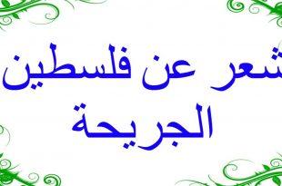 صورة شعر عن فلسطين , كلمات معبرة عن صرخه فلسطين