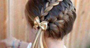 صورة تسريحات شعر للاطفال , تسريحات جميلة اوي للبنوتات الصغار