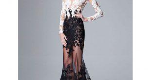صورة موديلات فساتين دانتيل , موضه هذا العام هذه الفساتين الشيك