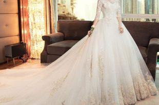 صورة فساتين زفاف , خليكى اميرة بارتداء اشيك فستان