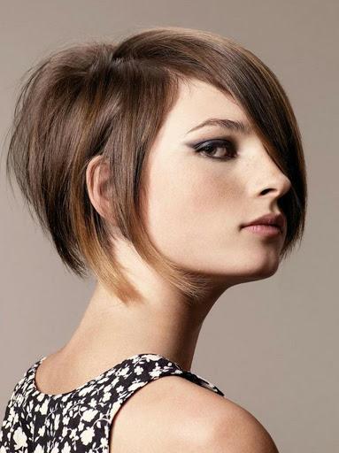 صورة قصات شعر للبنات , شعرك انسيابى بشكل جذاب 4594 7