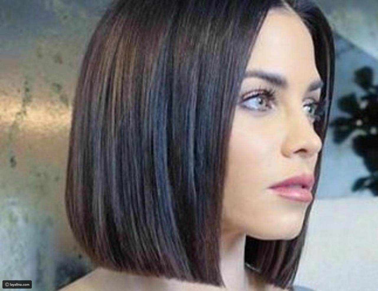 صورة قصات شعر للبنات , شعرك انسيابى بشكل جذاب 4594 8