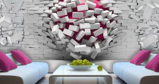 ورق جدران ايكيا , اجعلى حائط منزلك كأنه لوحه فنيه