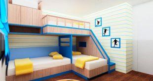صورة غرف نوم اطفال للمساحات الصغيرة , غرف طفولية جديدة