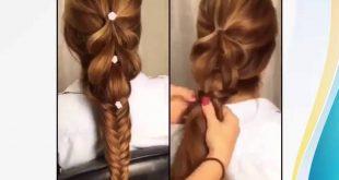 تسريحات شعر بسيطة للشعر الطويل , جمالك في شعرك