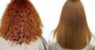 صورة افضل طريقة لتنعيم الشعر , الحصول علي شعر ناعم