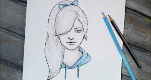 صورة لو بتحبى الرسم تعالى اتعلمى بكل سهوله , بنات رسم