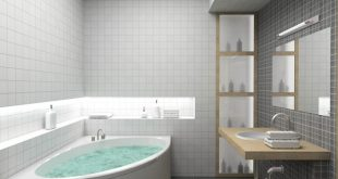 صورة تصاميم حمامات , ديكورات حمامات مودرن