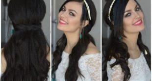 صورة موديلات شعر بسيطة , تسريحات انيقة وعصرية