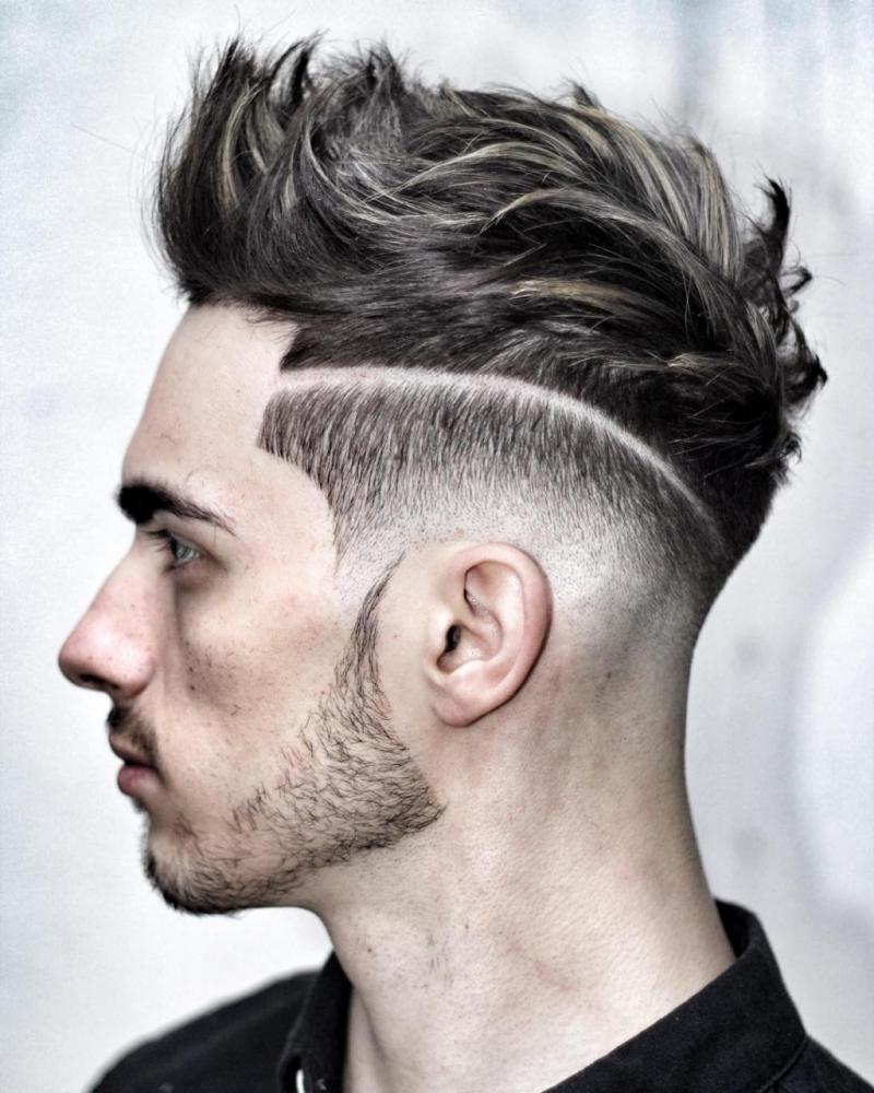 صورة اجمل قصات الشعر للرجال , اهتم بشعرك فى كل وقت جيدا 4509
