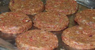 صورة طريقة عمل برجر اللحم , حضري برجر اللحم في البيت